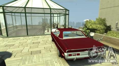AMC Matador para GTA 4 Vista posterior izquierda