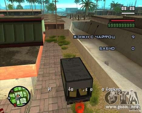 CJ-Loader para GTA San Andreas tercera pantalla