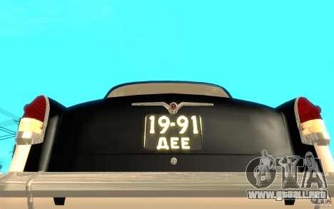Relampago Negro para GTA San Andreas séptima pantalla