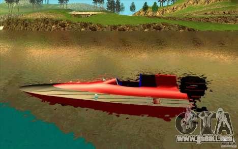 Race Boat para GTA San Andreas left