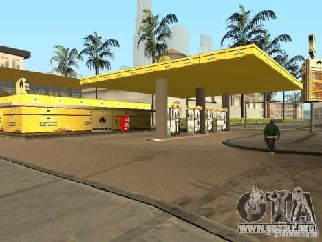 Nuevas texturas gasolineras para GTA San Andreas