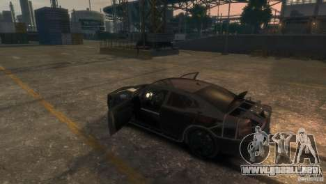 Dodge Charger Fast Five para GTA 4 vista lateral