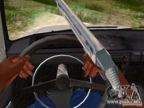 AZLK-412 para visión interna GTA San Andreas