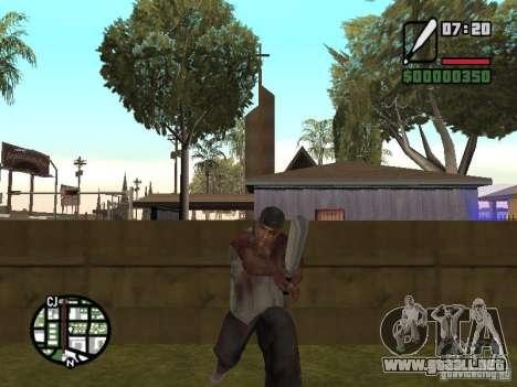 Markus young para GTA San Andreas décimo de pantalla