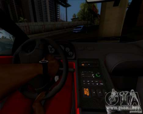 Lamborghini Diablo SV V1.0 para la vista superior GTA San Andreas