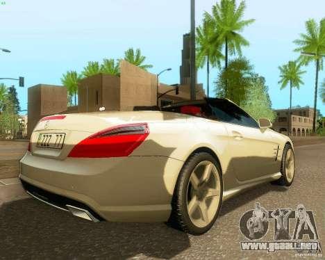 Mercedes-Benz SL350 2013 para la visión correcta GTA San Andreas