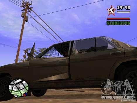ENBSeries para FX 5200 GForce v3.0 para GTA San Andreas quinta pantalla