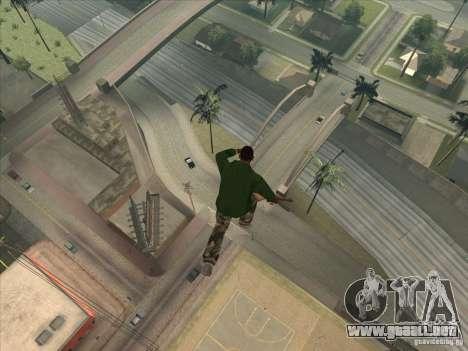 Saltar el Jet pack para GTA San Andreas