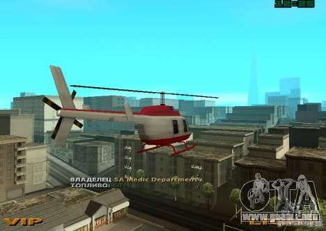 New Maverick para GTA San Andreas left