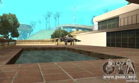 Guerra del aire para GTA San Andreas quinta pantalla