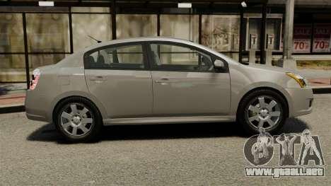 Nissan Sentra S 2008 para GTA 4 left