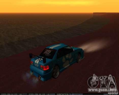 Nuevos vinilos en Sultan para la visión correcta GTA San Andreas