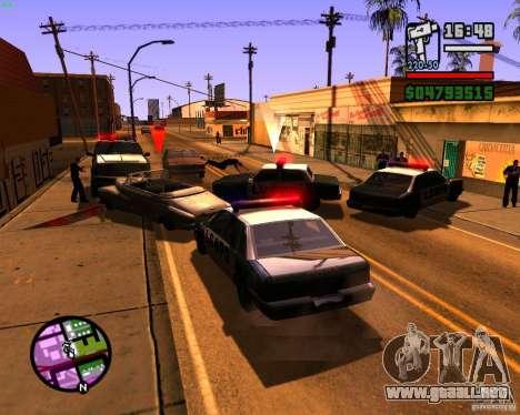 Persiguiendo a las máquinas para GTA San Andreas