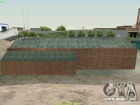 Nuevo garaje en Doherty para GTA San Andreas sexta pantalla