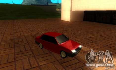 VAZ 21099 PROTOCOLO para visión interna GTA San Andreas
