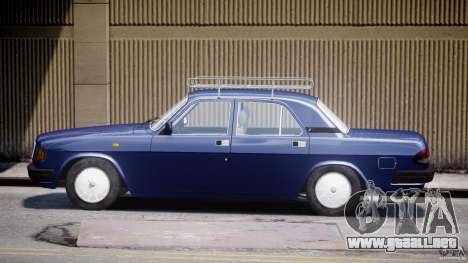 GAZ 3110 Volga para GTA 4 vista interior