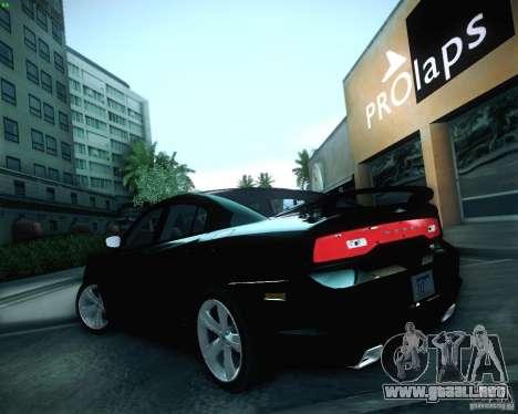 Dodge Charger 2011 v.2.0 para la vista superior GTA San Andreas