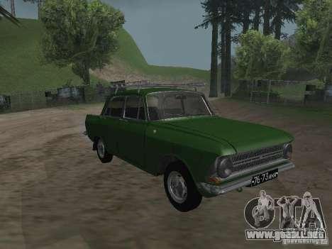 IZH 412 v3.0 para GTA San Andreas