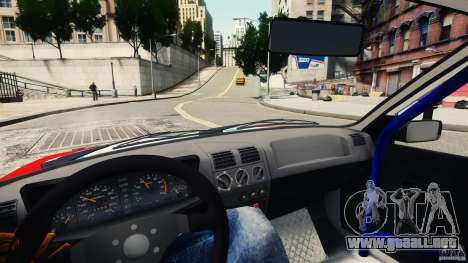 Peugeot 205 Rally para GTA 4 vista hacia atrás