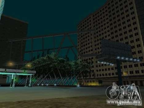 Nueva ciudad v1 para GTA San Andreas quinta pantalla
