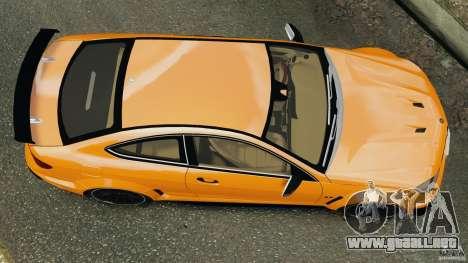 Mercedes-Benz C63 AMG 2012 para GTA 4 visión correcta