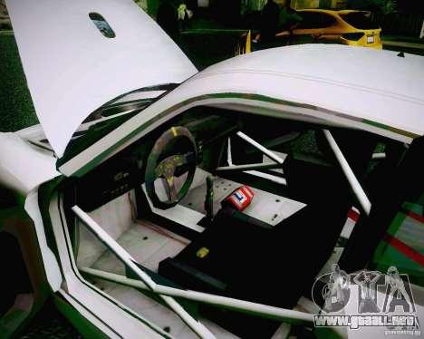 Porsche 911 GT3 para la vista superior GTA San Andreas
