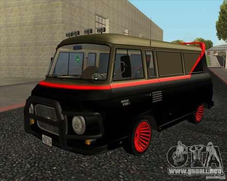 1961-1991 Barkas B1000 para GTA San Andreas left