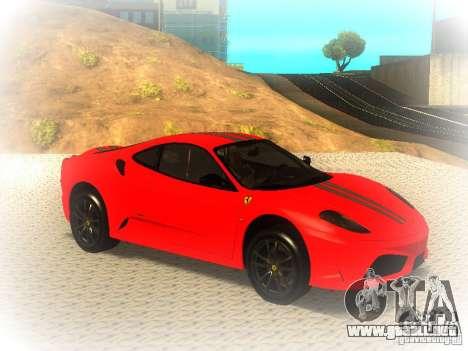 Ferrari 430 Scuderia TT Black Revel para la visión correcta GTA San Andreas