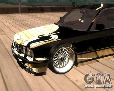 BMW M5 E34 Street para la visión correcta GTA San Andreas