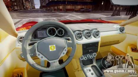 Ferrari 612 Scaglietti custom para GTA 4 visión correcta