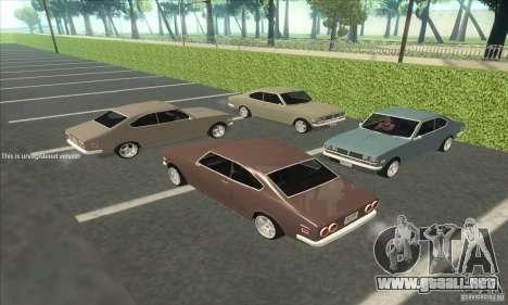 Mazda RX-2 2-door Coupe US para la visión correcta GTA San Andreas