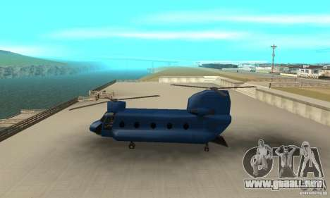 CH-47 Chinook ver 1.2 para GTA San Andreas left