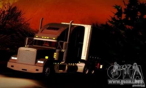 Freightliner Classic XL para la vista superior GTA San Andreas