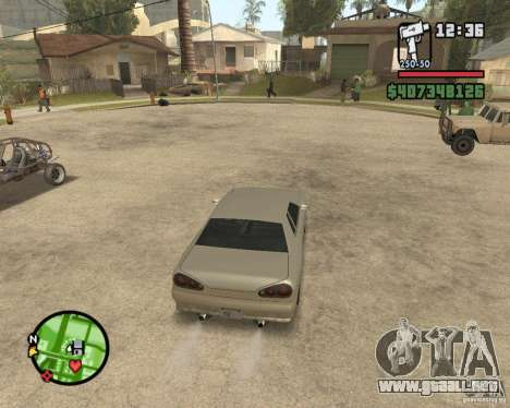 Radar zoom para GTA San Andreas