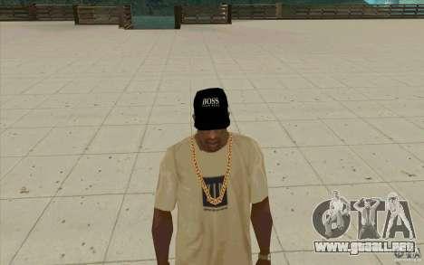 Jefe tapa negra para GTA San Andreas