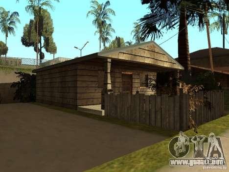 Casas Retekstur en la calle de surco para GTA San Andreas tercera pantalla