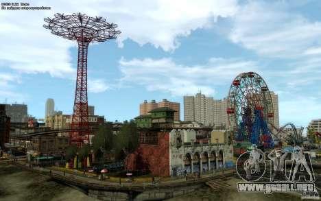 Pantallas de menú y arranque de Liberty City en  para GTA San Andreas sucesivamente de pantalla