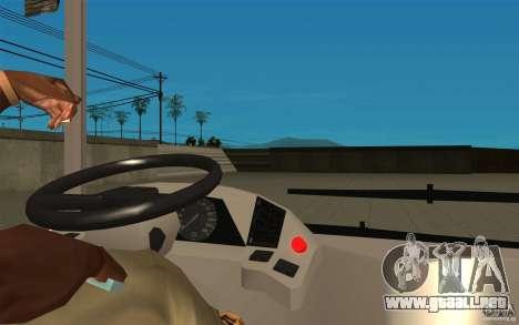 Laz-A183 ciudad Laz para GTA San Andreas vista hacia atrás