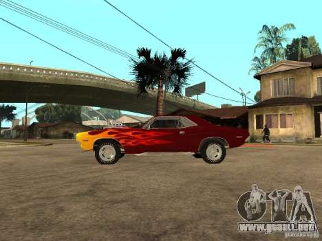 Dodge Challenger Tuning para GTA San Andreas left
