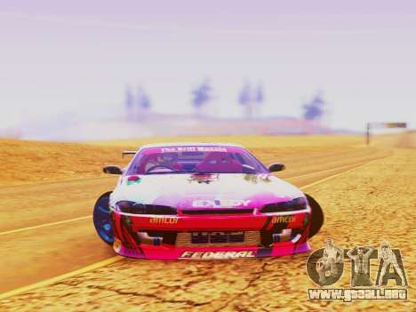 Nissan Silvia S15 EXEDY RACING TEAM para la visión correcta GTA San Andreas