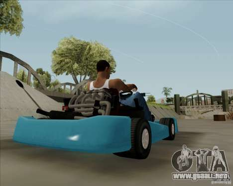 Kart para GTA San Andreas left