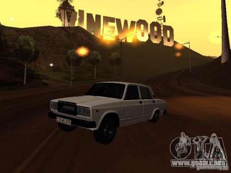 VAZ 2107 azerí completo para GTA San Andreas
