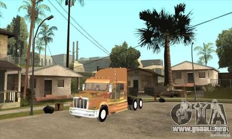 Peterbilt 387 piel 3 para GTA San Andreas