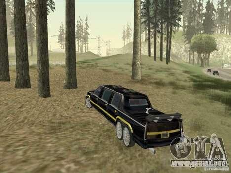 Limousine para la visión correcta GTA San Andreas
