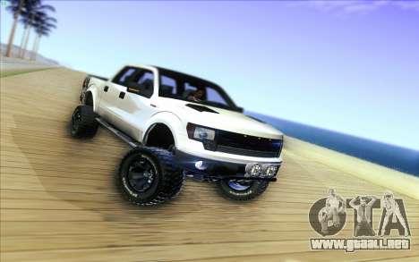Ford F-150 Carryer Metal Mulisha para GTA San Andreas