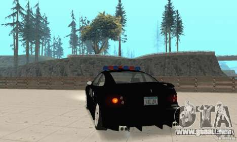 Pontiac GTO 2004 Cop para GTA San Andreas left