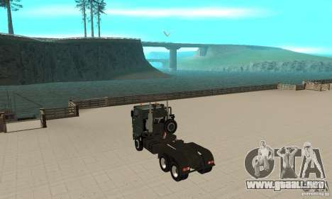 KAMAZ 65226 Tai v1.1 para la visión correcta GTA San Andreas