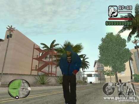 RunMan para GTA San Andreas sucesivamente de pantalla
