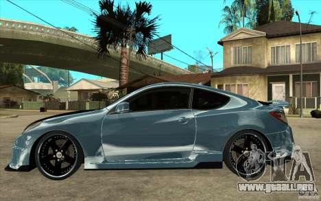 Hyundai Genesis Tuning para GTA San Andreas left