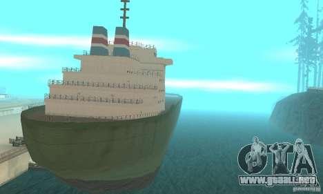 The G60 Ferry boat para GTA San Andreas left